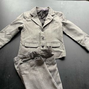 Koala Kids Tweed Suit Gray  (3T)
